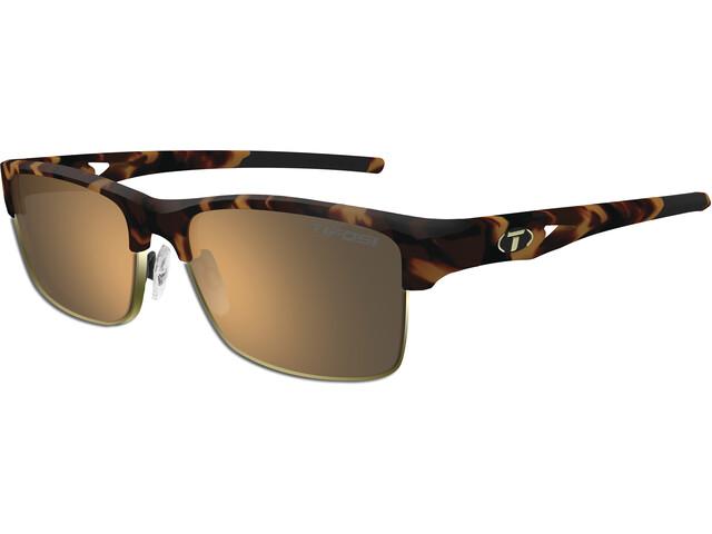 Tifosi Highwire Glasses Herren matte tortoise - brown